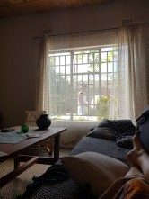 View from the sofa